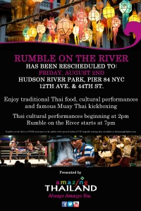 Rumble on the River Event